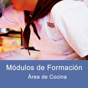 Módulos de Formacion Area de Cocina